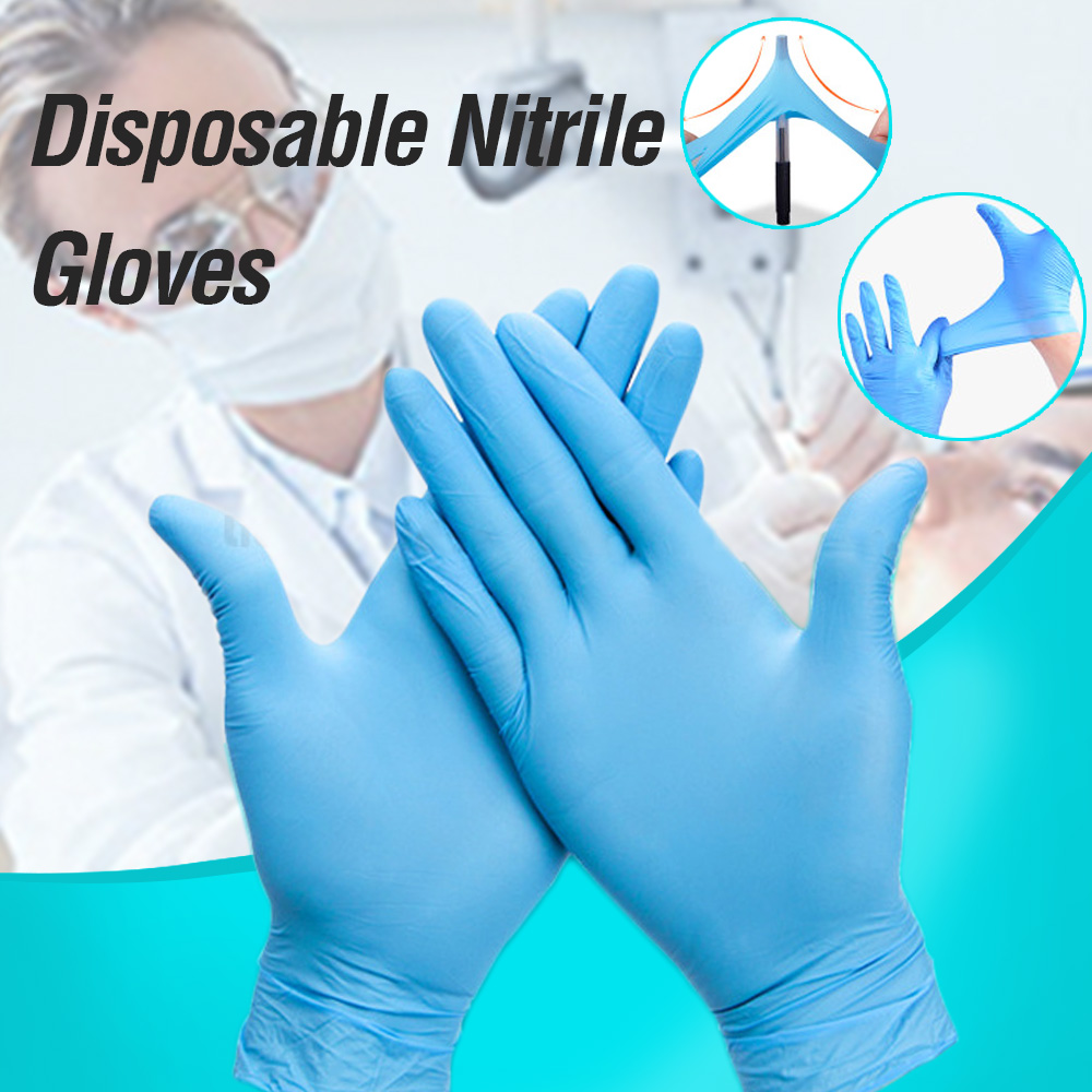 Gloves Disposable Latex Free Working Gloves for Household Nail Art Anti-static Gloves