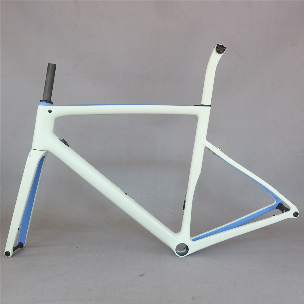 2020 custom paint front 100*12mm toray carbon fiber T700 glossy PF30 Disc brake road frame TT-X19