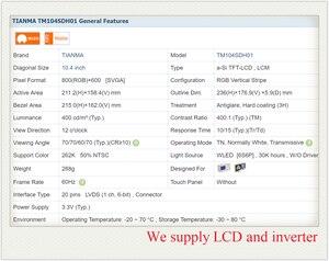 Image 3 - 供給TM104SDH01 10.4インチ液晶パネル、新 & オリジナル在庫