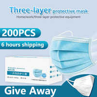 Mask Anti Virus Surgical Face Mask Medical Mask Mascherine Antivirus Coronavirus Disposable Masks Filter