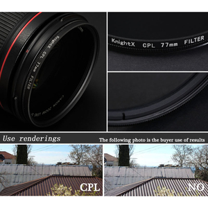 Image 5 - KnightX FLD UV CPL lens Filter 49 52 55 58 62 67 77 mm for nikon Canon Sony lens accessories camera d5200 d3300 canon 52mm 58mm