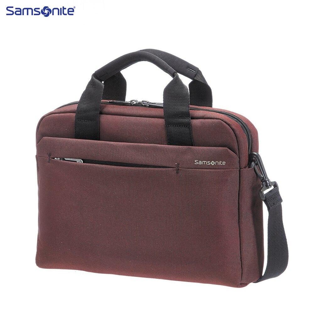 Laptop Bags & Cases Samsonite SAM41U00200 for laptop portfolio Accessories Computer Office a bag Men
