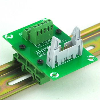 Soporte de soporte fijo PCB adaptador de carril DIN Placa de montaje de circuito soporte de fijación DRG-01, DRG-02, DRG-03, DRG-04