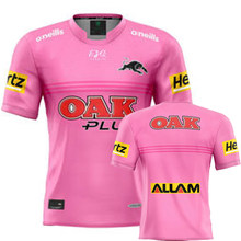 2021 penrith panthers rugby rosa camisa masculina esporte camiseta S-5XL