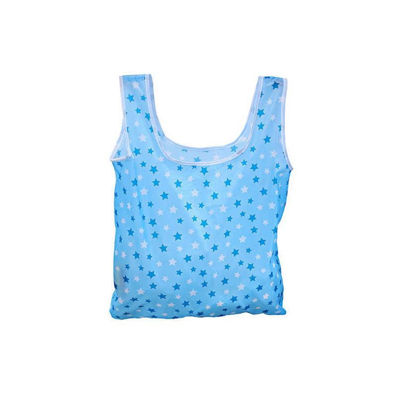 Boodschappentassen Opvouwbare Draagbare Herbruikbare Tote Pouch Recycle Opslag Handtassen Vrouwen Fashion Home Reizen Organizer Bag