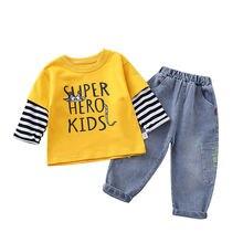 Сезон весна осень; Детская одежда; Хлопковая одежда для маленьких