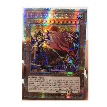 Yu Gi Oh Slifer niebo smok i Yugi Muto japoński DIY zabawki Hobby Hobby kolekcje kolekcja gier Anime karty tanie i dobre opinie TOLOLO CN (pochodzenie) S-259 Dorośli Chiny certyfikat (3C) Fantasy i sci-fi
