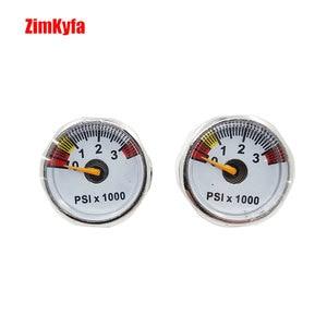 Image 1 - Paintball PCP Air Pressure Gauge 2pcs 3500psi Mini Micro Manometre Manometer 1/8bsp threads
