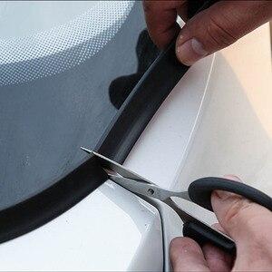Image 4 - 1.8M samochodów gumowy pasek uszczelniający osłona przedniej szyby Auto przednia szyba Spoiler dla Nissan Peugeot Hyundai Fiat KIA volkswagen ect