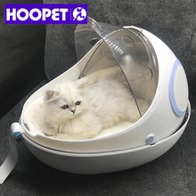 HOOPETPet Carrier Bag Outdoor Travel Puppy Cat Bag Space Pet Breathable Portable Backpack Cats Carrying