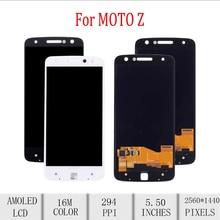 Original For Motorola Moto Z Droid LCD Display Touch Screen Digitizer Assembly For Moto Z Display Replacement XT1635 XT1635-02 цена в Москве и Питере