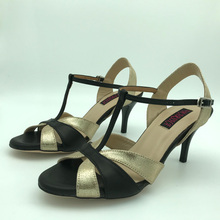 Dance-Shoes Argentina Outsole Low-Heel Tango Women NEW for MST6295BBGL Sexy