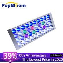цена на PopBloom led lighting aquarium led lighting reef tank marine aquarium led light led lamp aquarium marine aquarium Turing30
