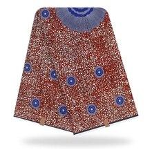цена Abstract African Print Fabric, Ankara Material Tribal print dressmaking fabric For Making Dresses Skirts  Y-195 онлайн в 2017 году
