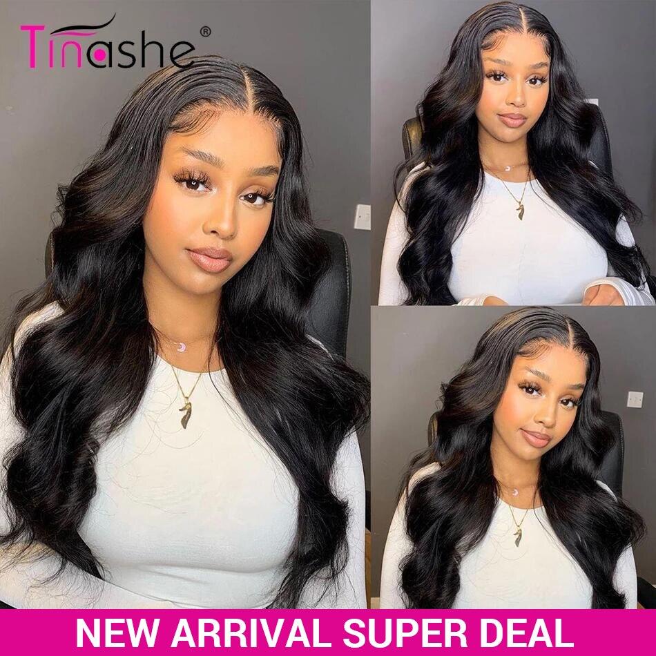 Tinashe Body Wave 4x4 парик бразильские человеческие волосы парики для женщин 200 плотный парик на сетке Remy парик на сетке с детскими волосами