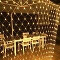 1 5 M X 1 5 M 3x2M 4x6M Weihnachten Girlanden LED String Weihnachten Net Lichter fee Xmas Party Garten Hochzeit Dekoration Vorhang Lichter-in LED-Kette aus Licht & Beleuchtung bei