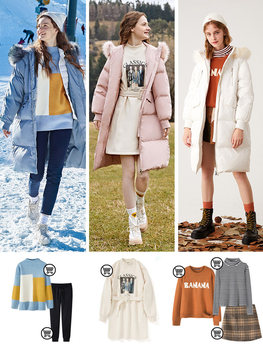 SEMIR 2019 Hot Sale Winter Women Coats Down Thicken Jacket And Coat For Woman Long Jacket Four Colors For -20 Low Degree 3
