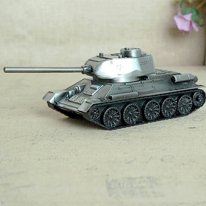 Retro War Tank Children Toys Home Decorations Metal Tank Model Photography Prop Model Living Room Decoration Iron Crafts|Figurines & Miniatures|   - AliExpress