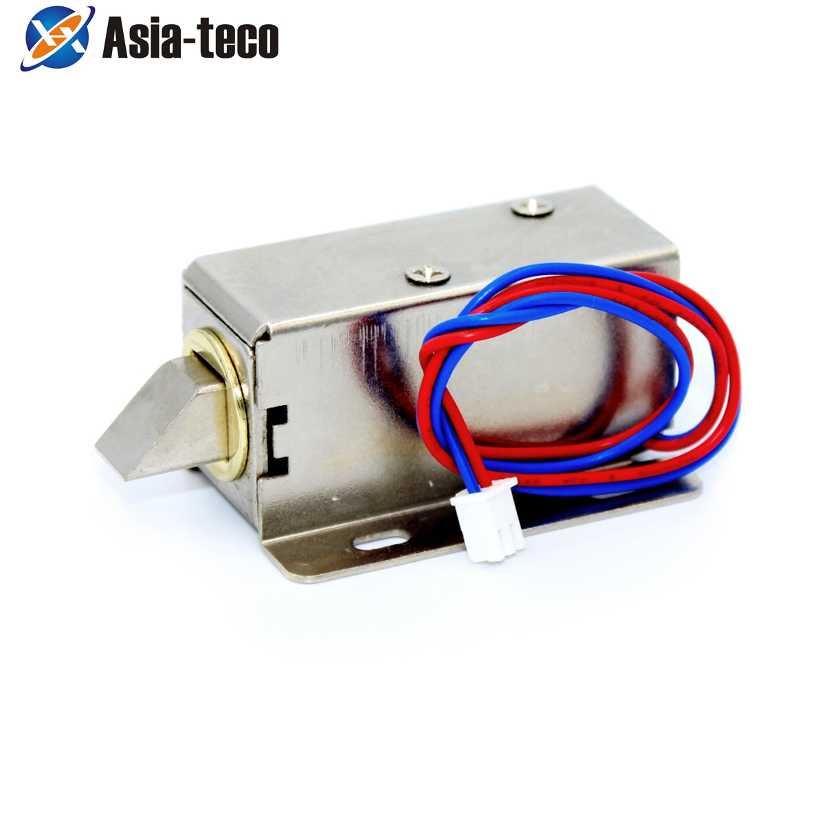 Electronic Door Lock Catch Door Gate 12V 0.4A Release Assembly Solenoid Access Control Lock 1 Order