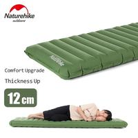 Naturehike 12cm Thicken Camping Air Bed Mat Outdoor Ultralight Inflatable Mattress For Tent Moisture-proof Pad With Repair Kit