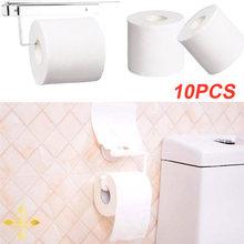 10 шт 3ply туалетная бумага полотенца белая Туалетная ткань