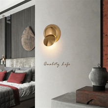 Rotatable Wall Lamp Bedroom Foyer Study Wall Light Decorative Light Hotel Restaurant Cafe Hallway Indoor Bath Light