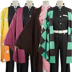 Image 1 - קוטלת שד Kimetsu לא Yaiba קאמאדו Tanjirou Nezuko Zenitsu Tomioka Giyuu Kochou Shinobu Cosplay תלבושות