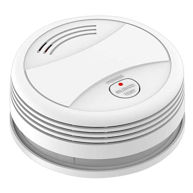 ABKT-WIFI Smoke Detector Tuya APP Fire Alarm System Sensor For Android IOS APP Remote Control