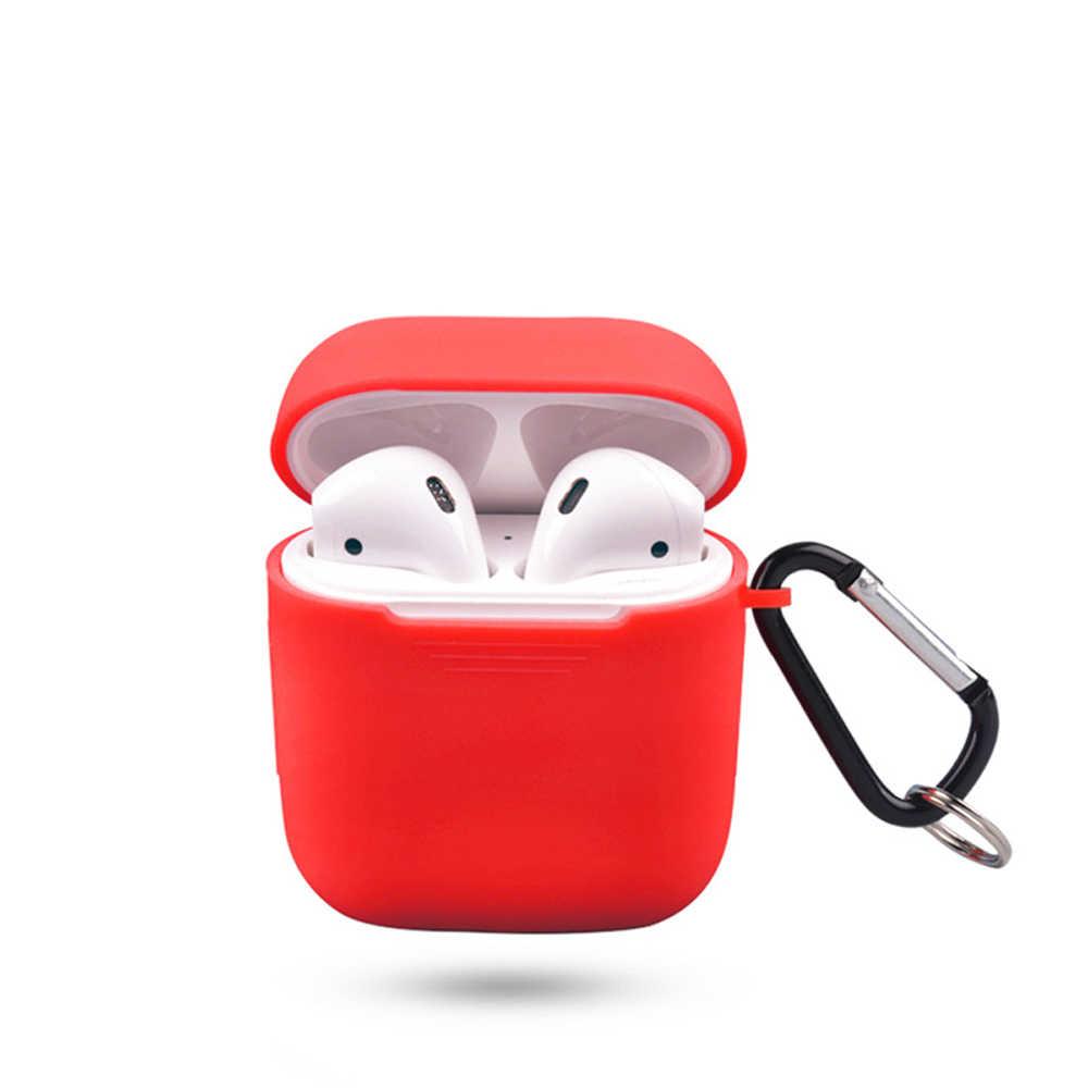 ミニソフトシリコンケースイヤフォンボックスプロテクターヘッドホン用 Airpod 2 耐衝撃 Apple AirPods イヤホンケース