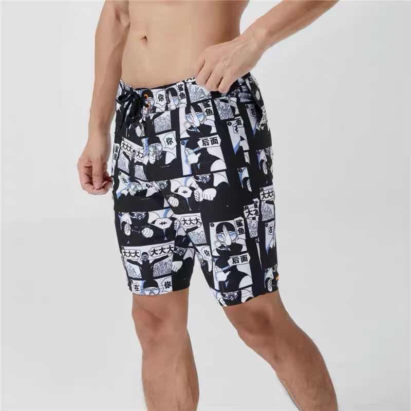 Beach Shorts Swimwear Quick Dry Camouflage Swimsuits Sports Beach Surf Short Women Lovers Swim Beach Shorts Men Trunks