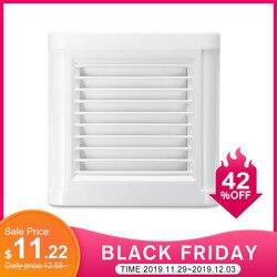 15 w 4 polegada silêncio ventilando forte exaustor ventilador para parede da janela banheiro banheiro banheiro cozinha montado 220 v 100mm ventilador de parede