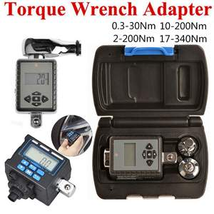 Wrench Adapter Bike Car-Repair Adjustable Digital-Torque Nm Electronic Professional 2-200