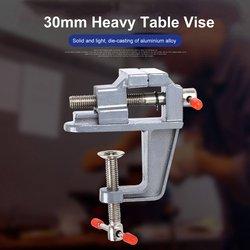 35MM stopu Aluminium tabeli zacisk roboczy imadło Mini ławeczka imadło imadło śrubowe dla DIY Craft Mold naprawiono Repair Tool w Imadła od Narzędzia na