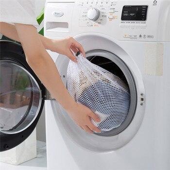 Sac à Linge Machine à Laver Pour Filtre Chaîne Sac Ménage Grande Taille Anti-Transformation Filet Poche Nettoyage Vêtements Pull P