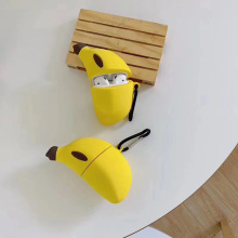 3D Cute Banana Silicone Protection Headphone Case For Apple Bluetooth Earphone F