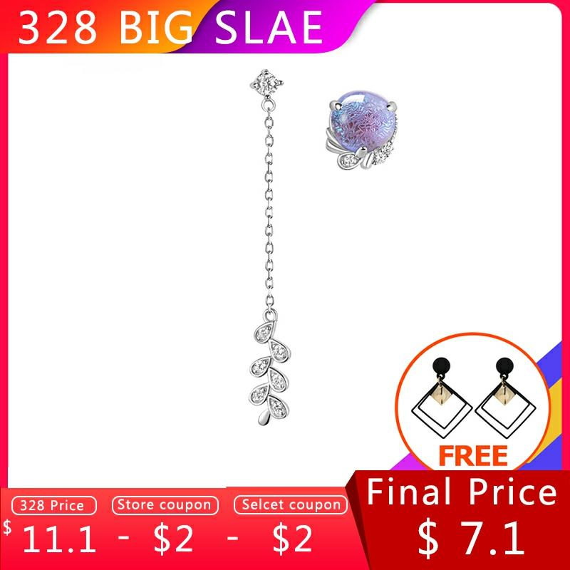 Thaya Provence Design Inspiration Earring 925 Silver Bohemia Zircon Unique Purple Earring for Women Special Design Jewelry