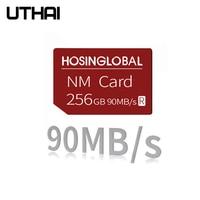 UTHAI C63 NM tarjeta 128GB Nano tarjeta de memoria para Huawei Mate20 Mate30 X Pro P30 P40 serie Pro Nova5 6 MatePad 2021 90 MB/s