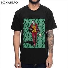 Joaquin Феникс джокер футболка уникальный дизайн фильм футболка