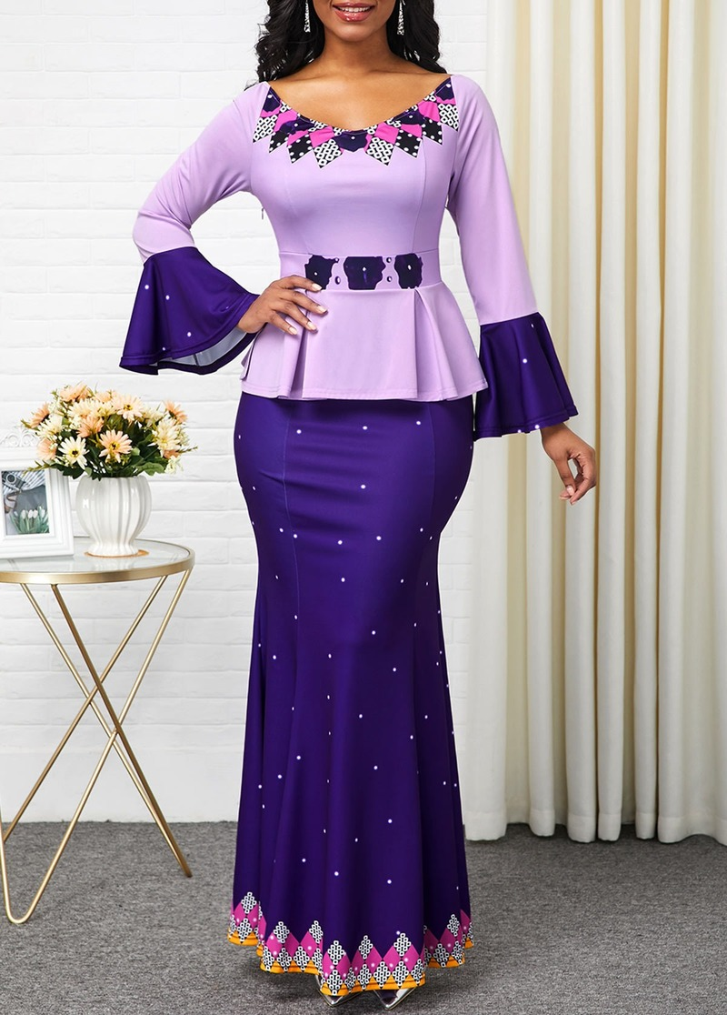 S 5XL Plus Size African Long Dresses For Women 2020 ...