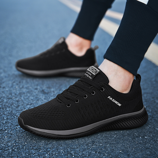 Men's Brand Casual Shoes Breathable Soft Sneakers High Quality Mesh Summer Flying Fabric Casual Shoes Krasovki Zapatos Hombre 1