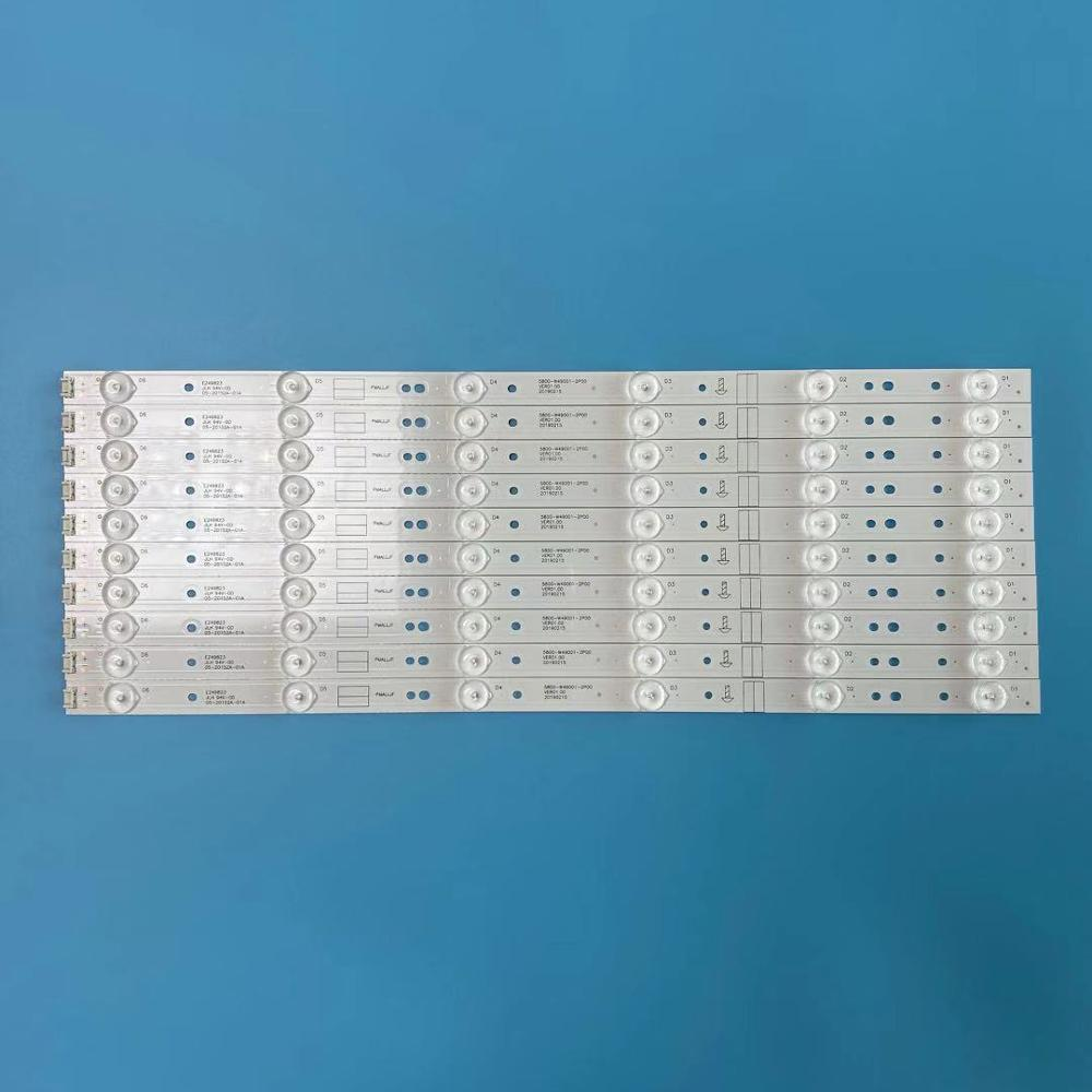 New Kit 10pcs 6LED 480mm LED backlight strip for LC490DUJ SHA2 5800 W49001 1P00 5800 W49001 2P00 0P00 DP00 5850 W50007 1P00Industrial Computer & Accessories   -