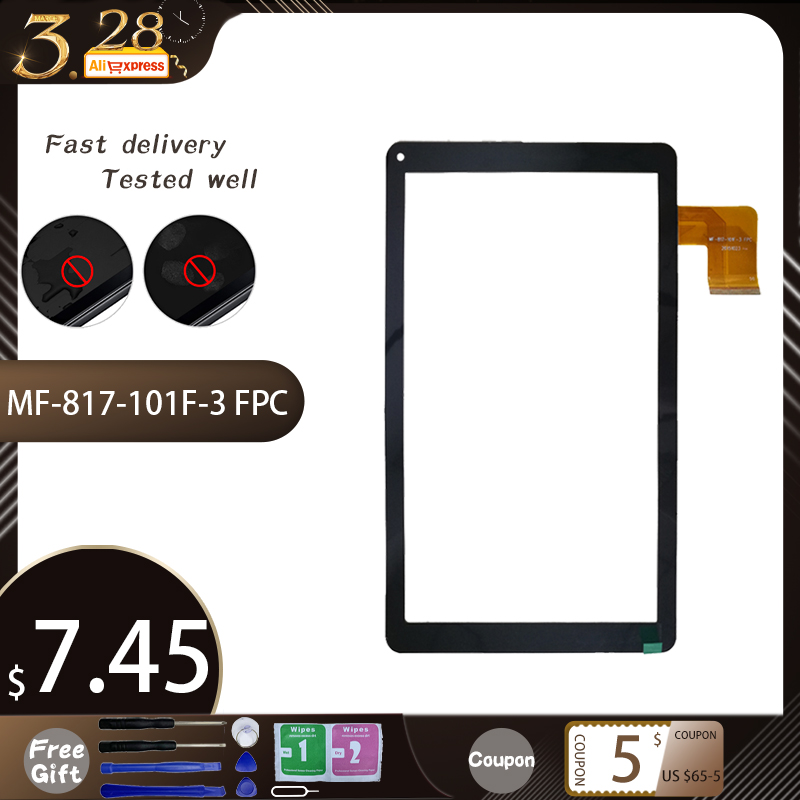 New 10.1'' Inch For MF-817-101F-3 FPC Tablet PC Touch Screen Panel Digitizer Sensor Repair Replacement Parts Free Shipping