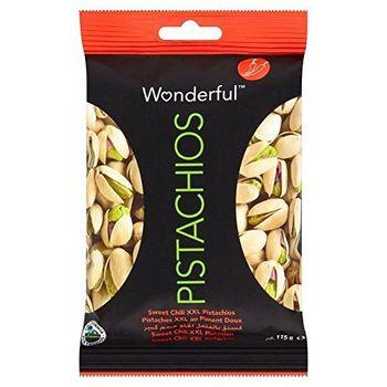 POM Wonderful Meravigliosi Pistacchi Dolce 115g Peperoncino (Confezione da 6)