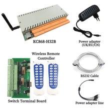 Controlador inteligente de 32 canales, controlador de automatización del hogar, Ethernet, Wifi, tablero de bornes App para WAN y LAN sin Internet MQTT