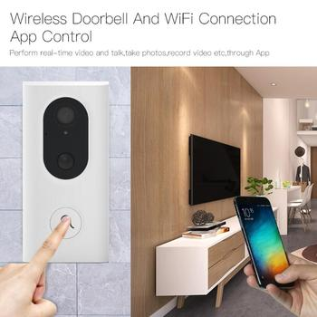 Home Smart WiFi Video Doorbell Voice Intercom Camera Visual Night Vision Door Bell Jingle Bell for Security Protection