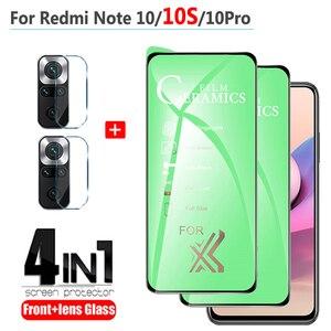 Image 1 - เกมสำหรับ Redmi หมายเหตุ10 S ฟิล์ม Anti Break นุ่มเซรามิคแก้ว Xiaomi Redmi Note 10S note10 Pro 5G 10 S