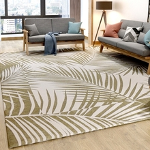 Carpet Decoration Area-Rug Bedside Woven-Plants Living-Room Nordic-Style Leaves-Pattern