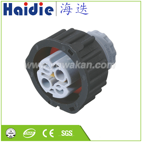 Free shipping 2sets 2Pin Auto Sensor plug with sheath Car oil exploration railway etc Waterproof round connector 2 1813099 3|Connectors| |  - title=