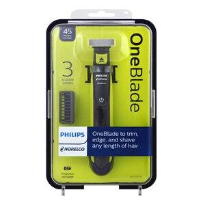 Image 5 - Philips QP2520 OneBlade Elektrische Rasierer Wiederaufladbare mit NimH Batterie Hält Bis Zu 4 Monate Unterstützung Wet & Dry für Männer der Rasierer