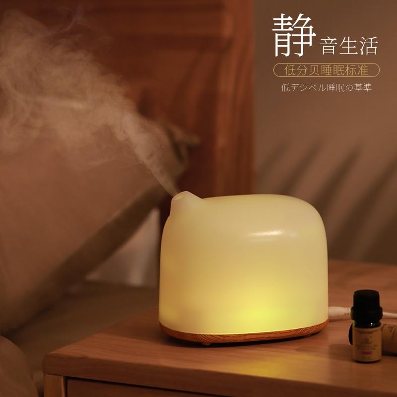 Japanese Electric Incense Burner Mute Aroma Lamp Ultrasonic Air Humidifier Incense Holder Encensoir Bedroom Decor Mini MM60XXL